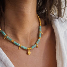 Load image into Gallery viewer, Flow Amazonite Choker