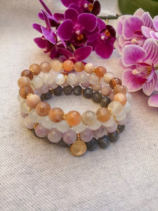 Amplify Mala Bracelet Stackables - Lila in the sky