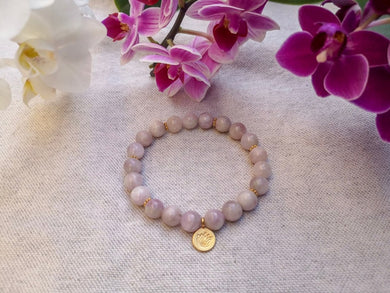 Love Bracelet Mala - Lila in the sky