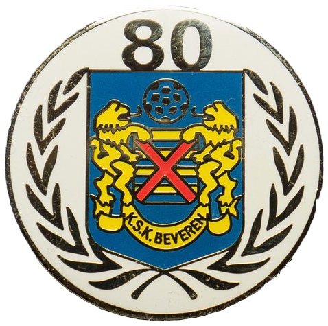 Pin 80 jaar KSK Beveren