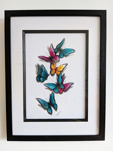 Signed Butterflies Artwork