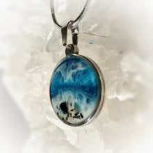 Load image into Gallery viewer, Beach Pendant with Black Tourmaline