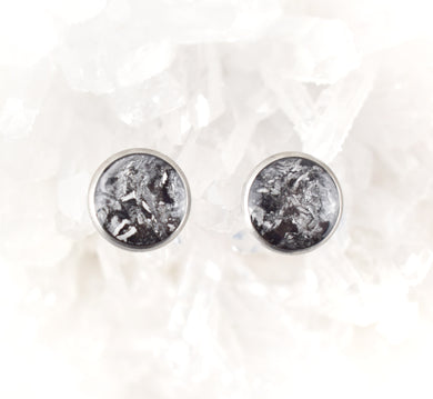 Black and Silver Studs, 10mm