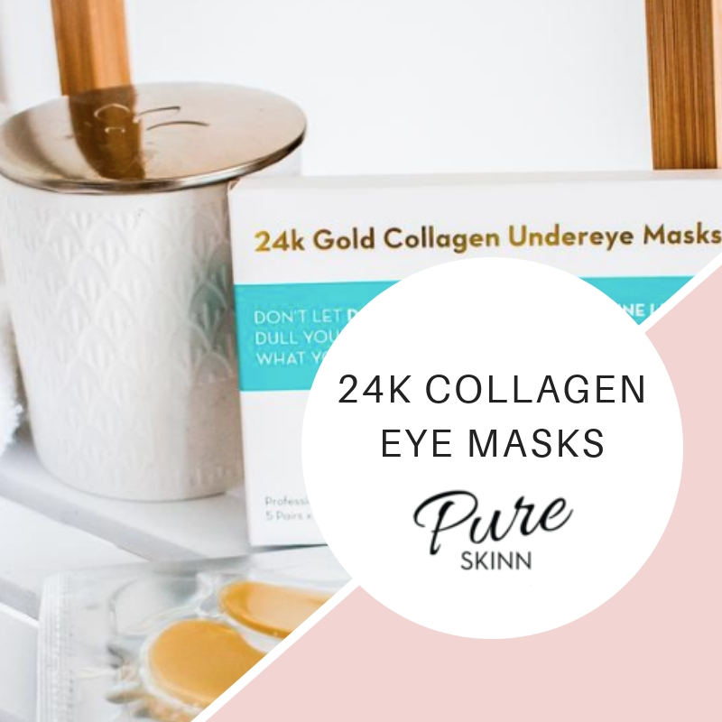 24k Collagen Eye Masks