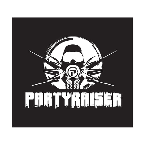 Partyraiser Car sticker