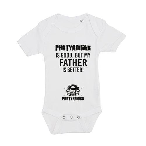 Partyraiser Romper 'Partyraiser is good..'