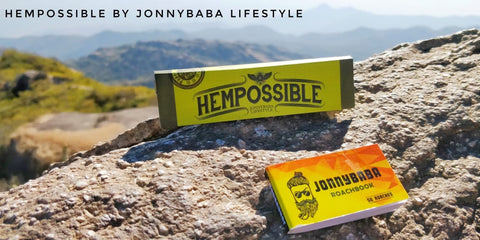 Hempossible hemp rolling Papers by Jonnybaba lifestyle