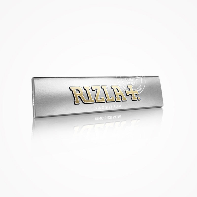 RIZLA 15 Booklets Rizla Silver King Size Slim Rolling Papers by Rizla