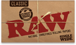 Raw Classic Single Wide size - 100 sheets
