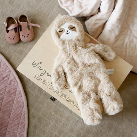 Sam The Sloth - A Blanket Toy For Kids