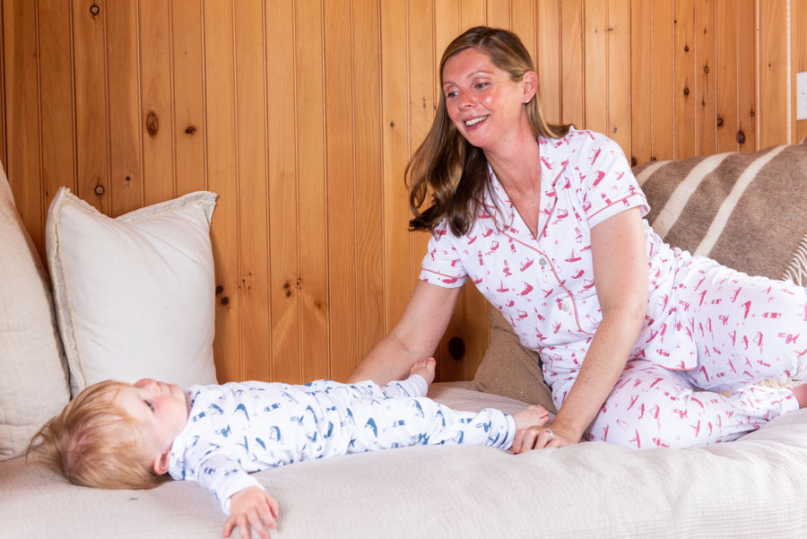 Women's Polo PJ Set