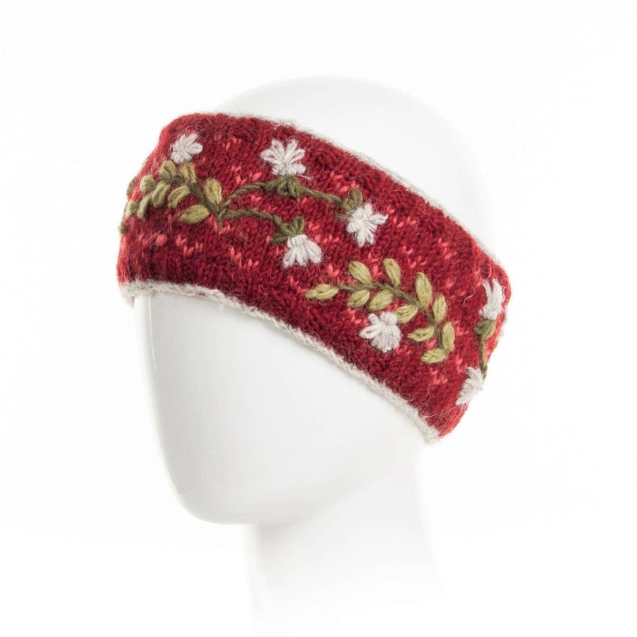 Kate Headband- Rouge