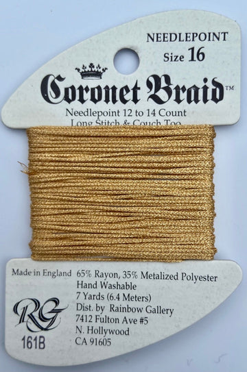 Coronet Braid Gold