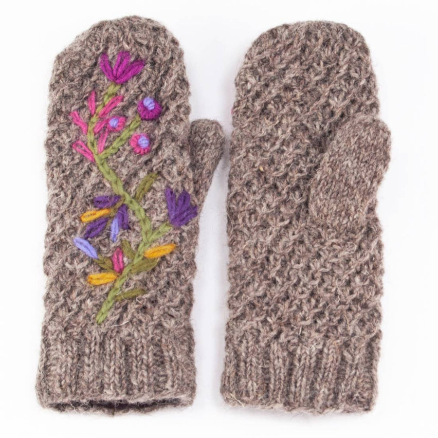 Naomi Mittens - Medium Natural