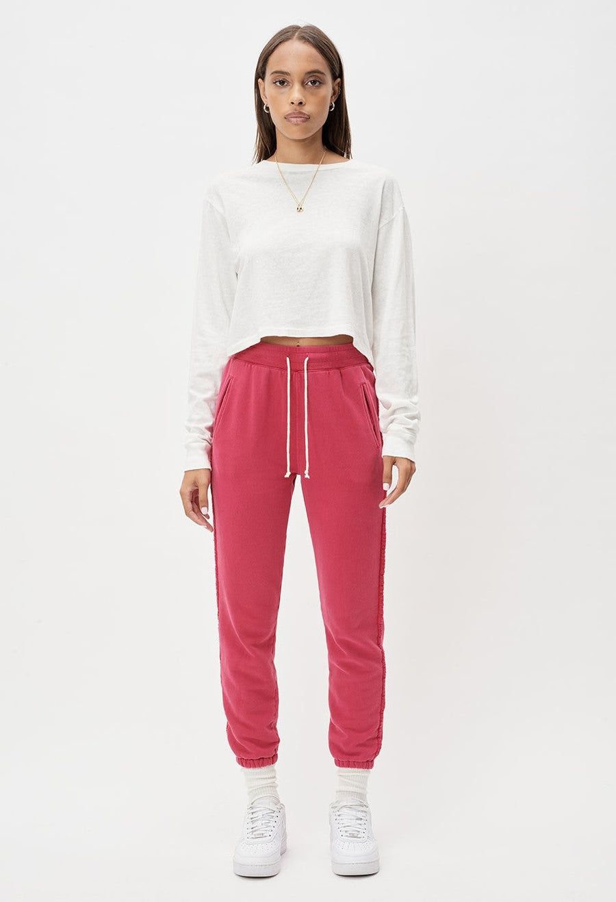 Embroidered Sweats