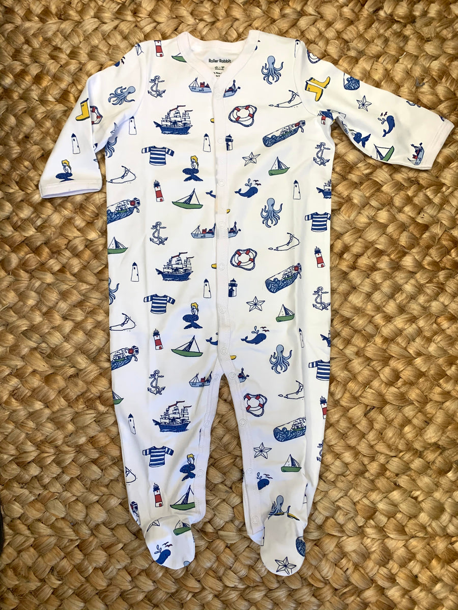 Souvenir Infant Footie Pajamas