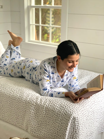 Souvenir Long Pajama Set