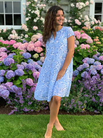 Pamela Dress - Stargazer Periwinkle