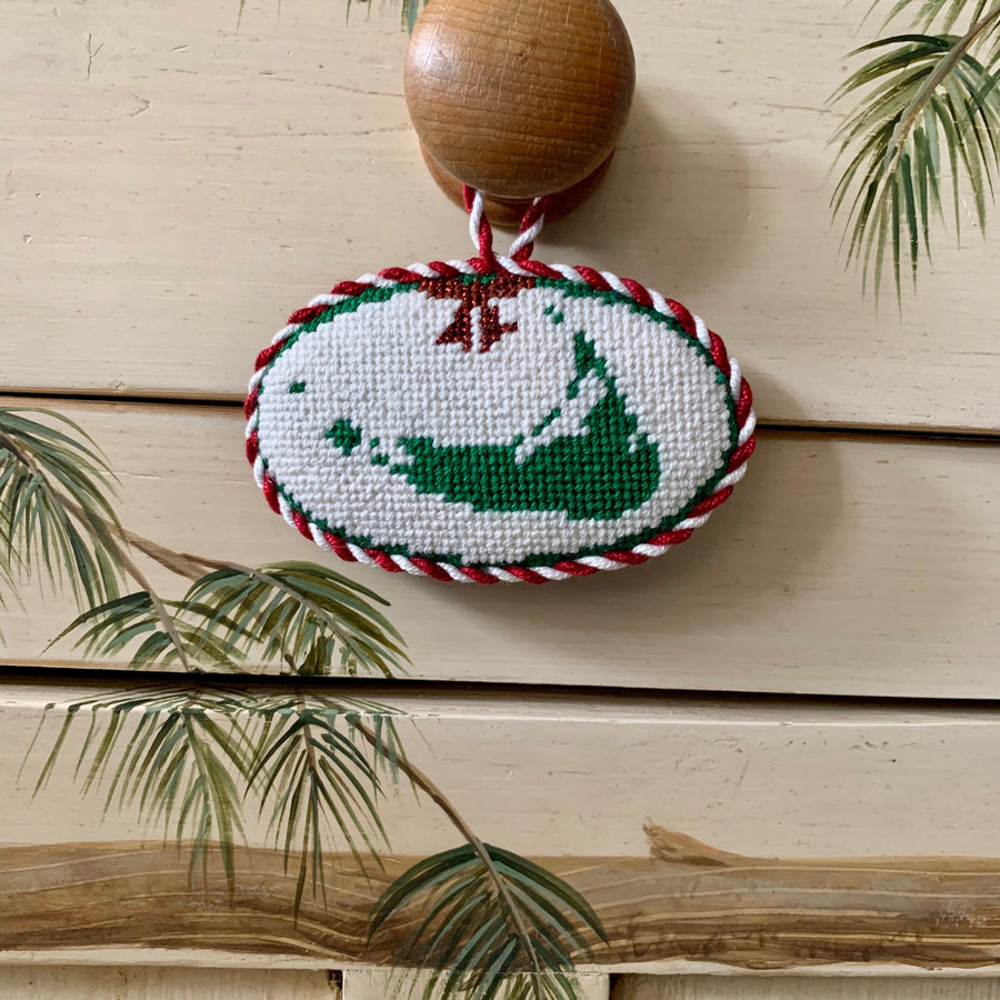 Christmas Map Ornament
