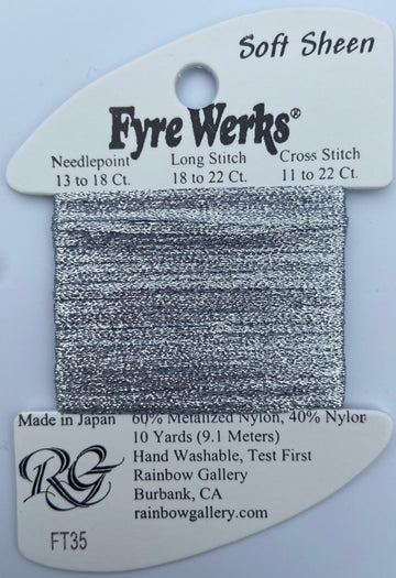Fyre Werks - Soft Shine Gray-FT35