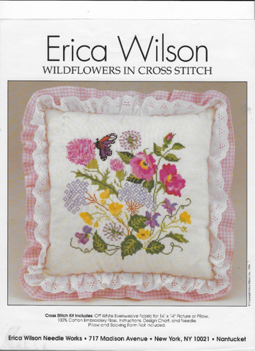 Nantucket Wildflowers Crossstitch