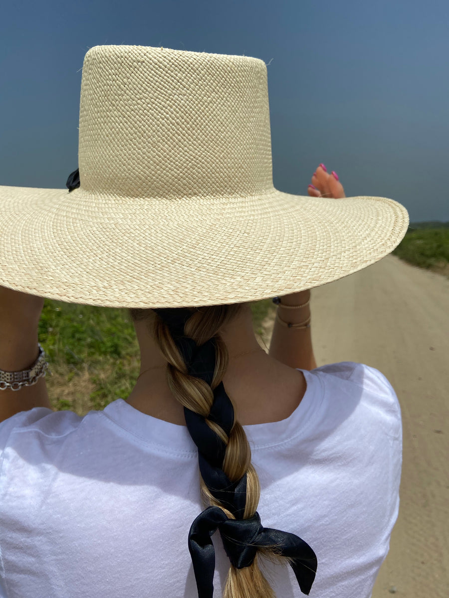 Serena Jr Straw Hat Nantucket