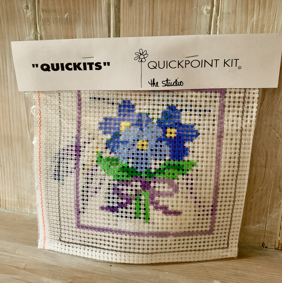 Posy Flowers Quick Kit 8 Inches