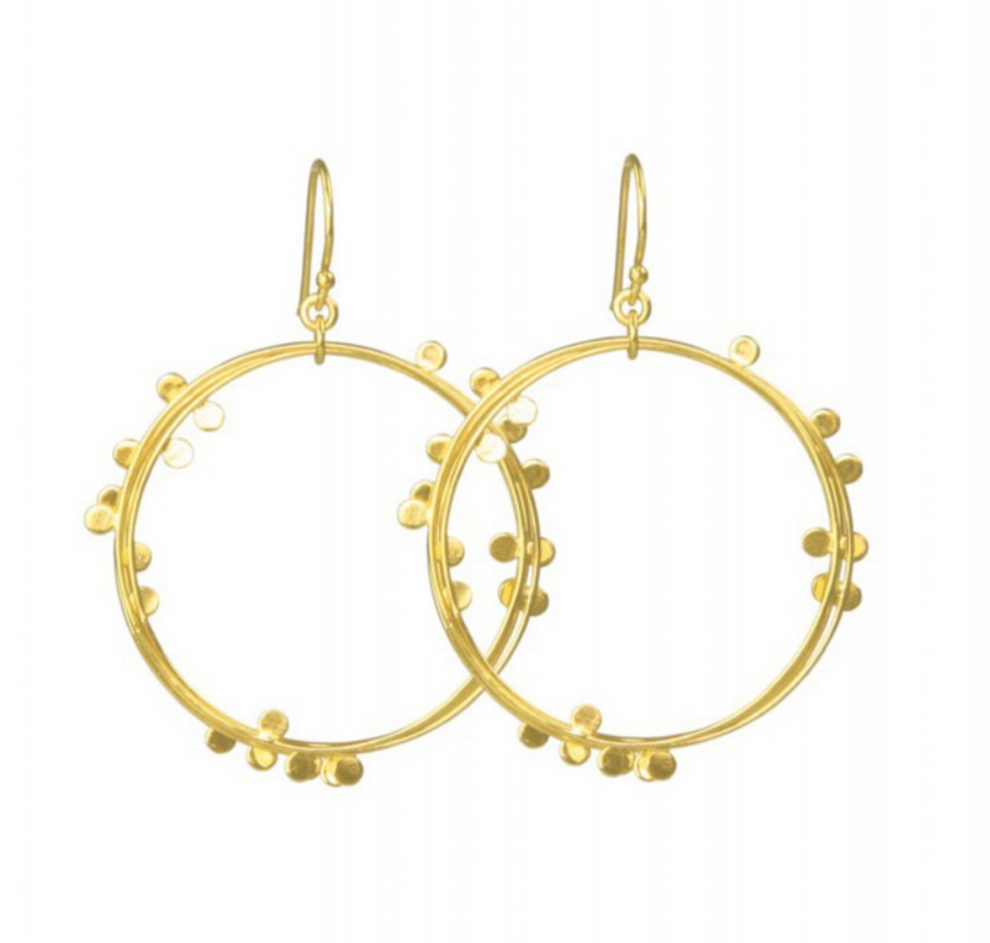 Emillia Gold Earrings