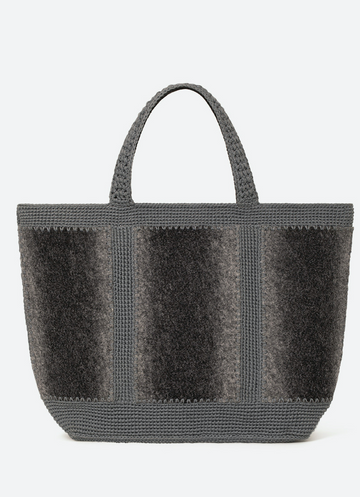 Medium + Tweed Cabas Tote Bag Handmade in Madagascer