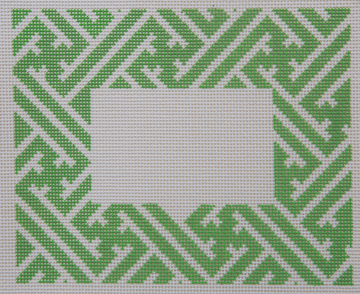 Lattice Blank Green