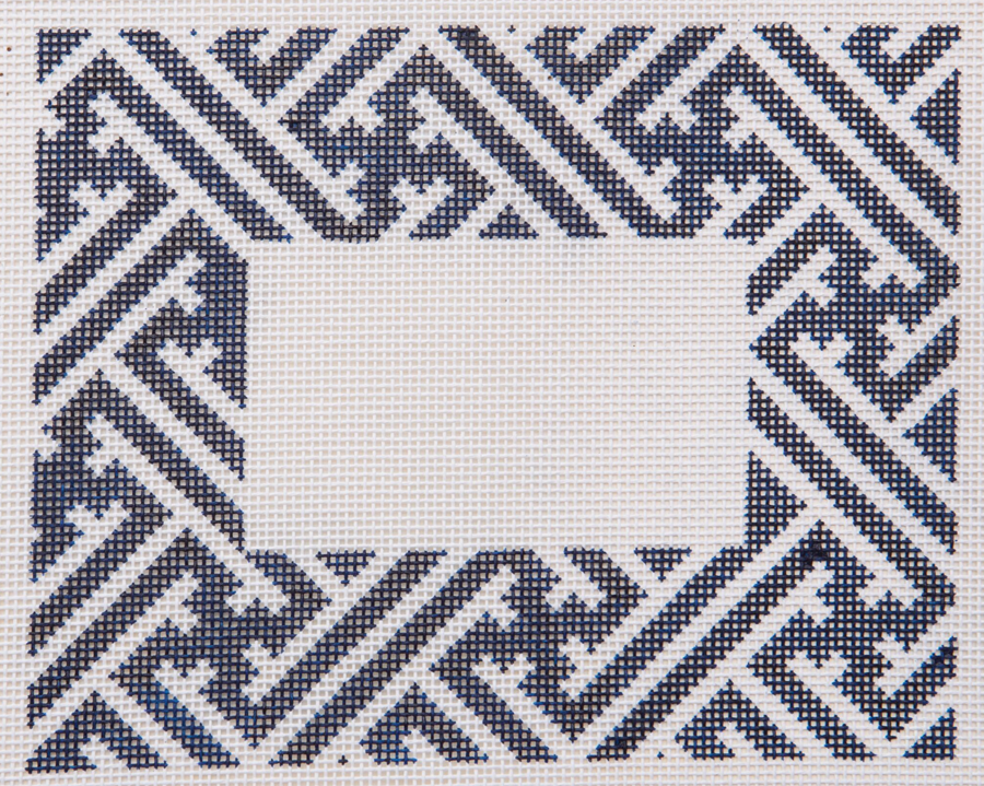 Lattice Blank Blue