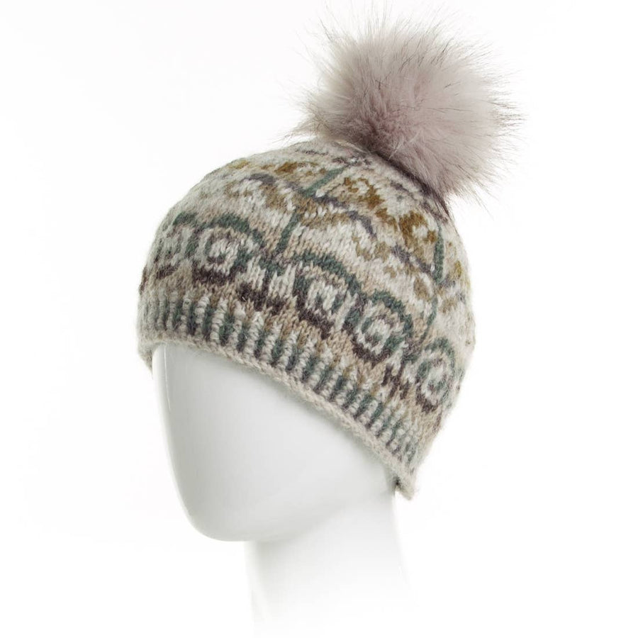 Natalie Beanie- Light Natural