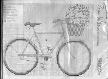 Bicycle Crosstitch