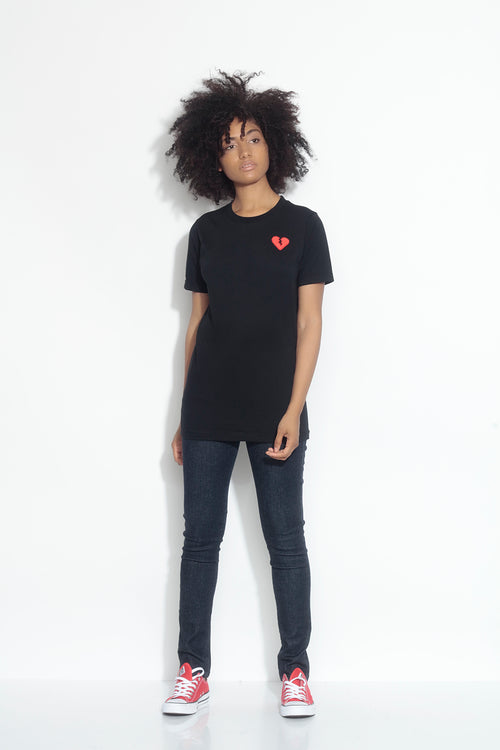 relax short sleeve tee - black