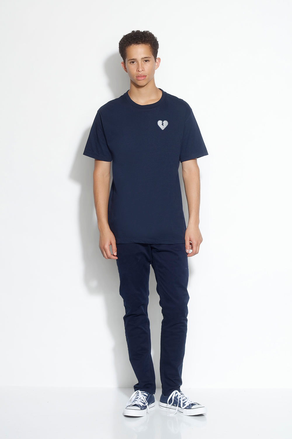 men's relax short sleeve tee - navy