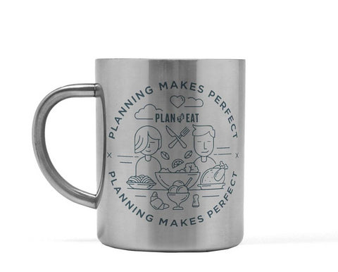 Planning Makes Perfect Stainless Steel Mug