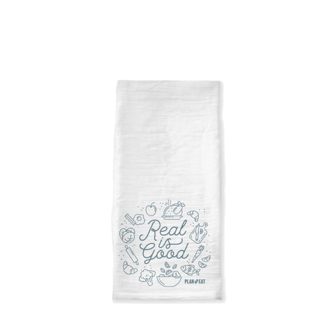 Real is Good Tea Towel