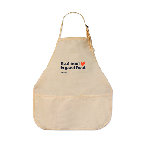 Real Food is Good Food Apron