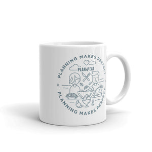 Planning Makes Perfect (circle logo) Mug
