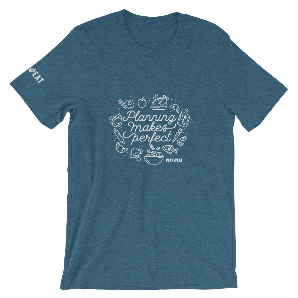Planning Makes Perfect Short-Sleeve Unisex T-Shirt