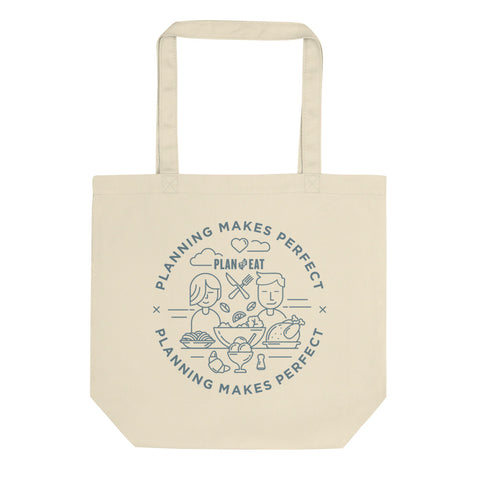 Planning Makes Perfect (circle logo) Tote bag