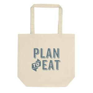 Plan to Eat Logo Tote Bag