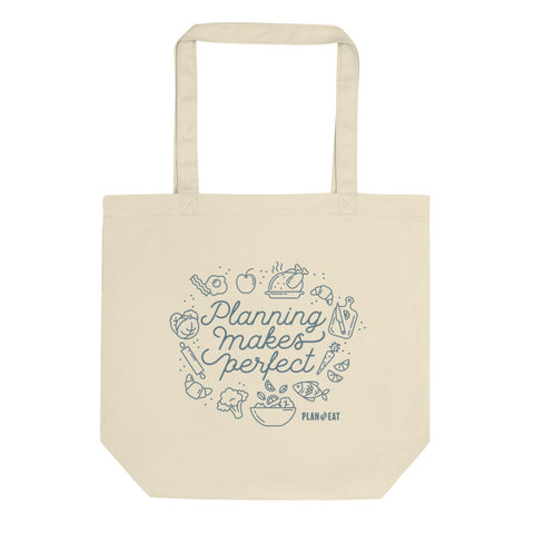 Planning Makes Perfect Tote bag