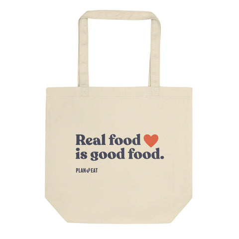 Real Food is Good Food Tote bag