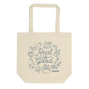 Real is Good Tote bag