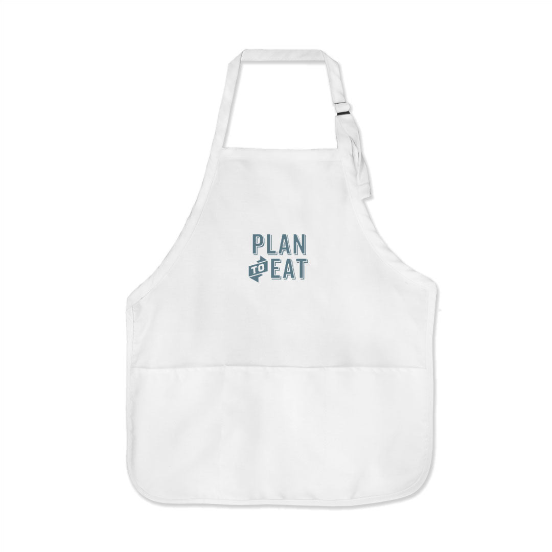 Plan to Eat Logo Apron