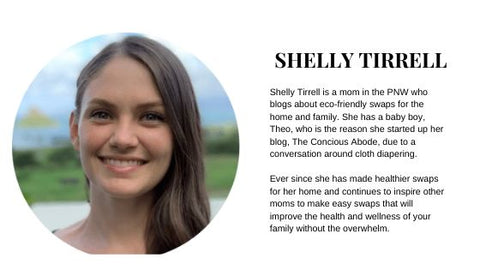 Shelly Tirrell Bio from The Concious Abode Blog