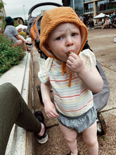 Load image into Gallery viewer, Goldenrod Classic Baby Bonnet by Borne Bare at bornebarebaby.com