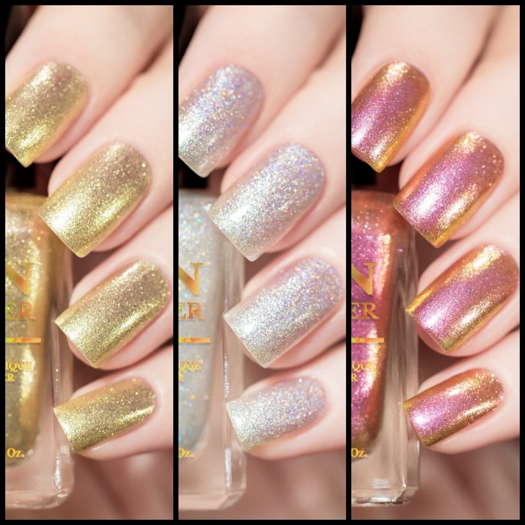 NEW! LOVE AT FIRST SIGHT NAIL POLISH TRIO