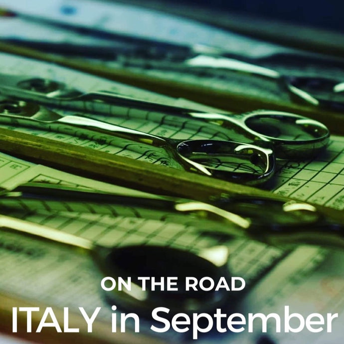 On the road... ITALY in September.
